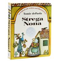 【中商原版】巫婆奶奶 英文原版 Strega Nona �典�L本 �板�� 1976年�P迪克�y��作品