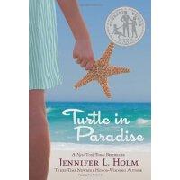 英文原版 天堂里的海龟 Turtle in Paradise 2011年纽伯瑞银奖