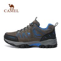 camel骆驼户外徒步鞋 透气防滑情侣款徒步鞋