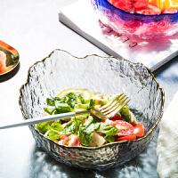 光一网红水果个性沙拉碗少女心创意耐热玻璃可爱餐具家用大号透明日式