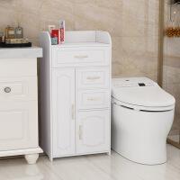 【家装节 夏季狂欢】卫生间浴室用品置物架洗手间厕所马桶边柜侧柜夹缝储物收纳柜防水