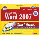 Microsoft Office Word 2007 QuickSteps (How to Do Everything