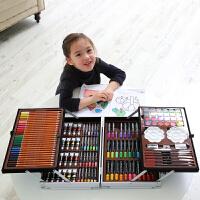 儿童画画套装绘画水彩笔礼盒小学生学习用品美术工具女孩生日礼物