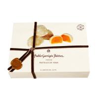 【西班牙原装进口】巴布洛扁桃仁蛋黄糕 四角实木盒装200g