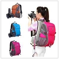 双肩背包数码相机包双肩摄影包休闲包旅行包防水单反相机背包