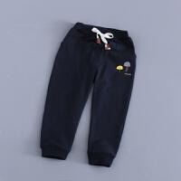 儿童长裤秋女童运动裤纯棉男童休闲裤子外穿新款单裤童装卫衣春