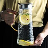 光一家用北欧玻璃日式冷水壶耐高温储大凉白开水杯北欧风茶壶札壶欧式