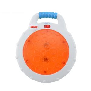 费雪 宝宝敲击小手鼓CCG07 音乐玩具易携带 早教益智玩具