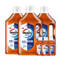 【领券立减50】威露士多用途家居衣物消毒液1LX3套装 加送3瓶60ml