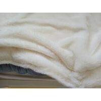 ins婴儿童春夏盖毯针织毛毯宝宝空调纯棉加厚毯子外出推车盖毯被 秋冬加绒款
