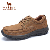 camel骆驼男鞋 秋季新品大休闲系列牛皮鞋真皮青年城市旅游日常鞋
