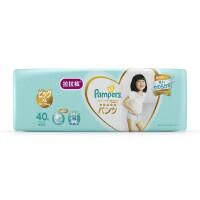[当当自营]帮宝适 日本进口一级婴儿拉拉裤 加大码XL40片(12-22kg) 大包装