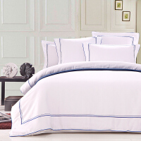 Toscaso枕套枕头套一对50CMX75CM加大加厚纯棉五星酒店床上用品