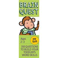 英文原版 智力开发系列 Brain Quest Early Childhood My First (Ages 2-3)