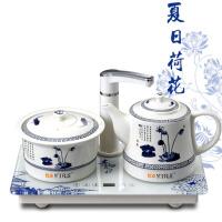 陶瓷电热水壶烧水保温煮茶器功夫茶具自动上水
