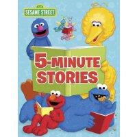 英文原版 芝麻街五分钟故事集 精装 Sesame Street 5-Minute Stories