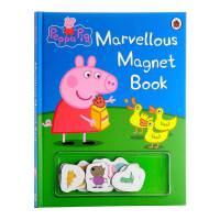英文原版 粉红猪小妹 不可思议磁铁书 啥是佩奇 Peppa Pig Ladybird小猪佩琪 玩具书 佩佩猪动画 幼儿启