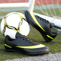 春季�\�有��和�足球鞋小�W生青少年男童女童碎�草地��鞋