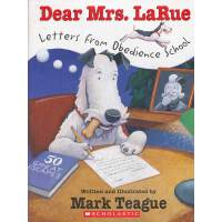 Dear Mrs. Larue: letters from obedience school (Book+CD)亲爱的