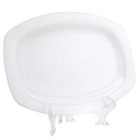 [当当自营]SKYTOP斯凯绨 陶瓷高档骨瓷餐具 纯白12方鱼盘