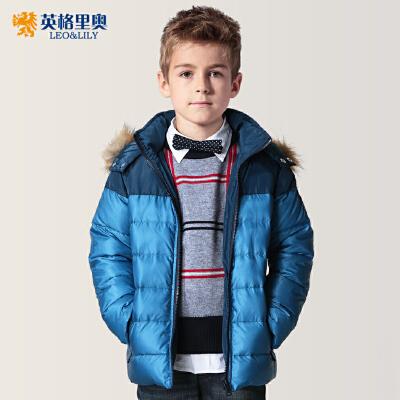 秋冬青少年中大童英格里奥童装男童羽绒服中长款冬装羽绒服 LLB17552件5折 更有特价专区