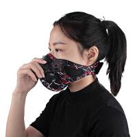 男女运动跑步骑行面罩自行车口罩活性炭