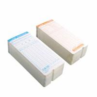华杰 24/50位塑料考勤架 考勤卡纸考勤纸 体积小存大 考勤打卡架 颜色随机