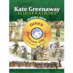 【预订】Kate Greenaway Illustrations [With CDROM]