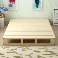 木板床垫实木硬板床垫双人1.8米床1.5米排骨架床板席梦思床垫架子 原木无漆