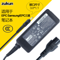 ZUNKUN 适用于三星19V2.1A3.0X1.1 笔记本电源适配器 显示器电源