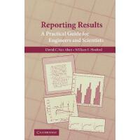 【预订】Reporting Results: A Practical Guide for Engineers and