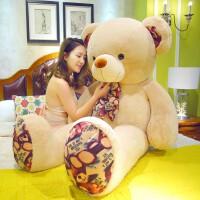 熊毛绒玩具送女友可爱熊布娃娃熊猫公仔抱抱熊玩偶睡觉抱女孩