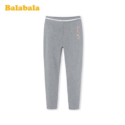 巴拉巴拉女童打底裤2020新款春装儿童裤子中大童弹力透气百搭时尚