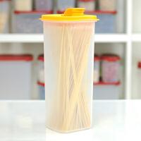 特百惠2L纤巧壶过滤网密封塑料水杯子带盖凉水壶冷水壶酵素果汁壶 橘色