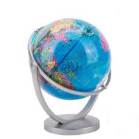 【5折包邮 限时抢购】征伐 地球仪 世界立体地图倾角双轴万向旋转星球学生用20cm地理卫星学习地图教学儿童书房摆件男女