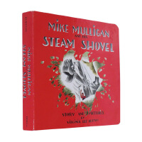 【中商原版】英文原版绘本 Mike Mulligan and His Steam Shovel 迈克・马力甘和他的蒸汽