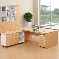 现代办公家具办公桌简约板式杭州老板桌大班台新款总裁桌经理桌