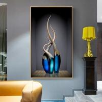 北欧式5d钻石画满钻石绣花瓶简约点钻十字绣2019新款客厅玄关走廊