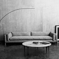 【海格勒】北欧舒适系亲肤沙发W1836-B 组合沙发转角沙发牛皮沙发羽绒沙发乳胶沙发