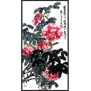 中国美术家协会会员  何水法 《花》JXFT693