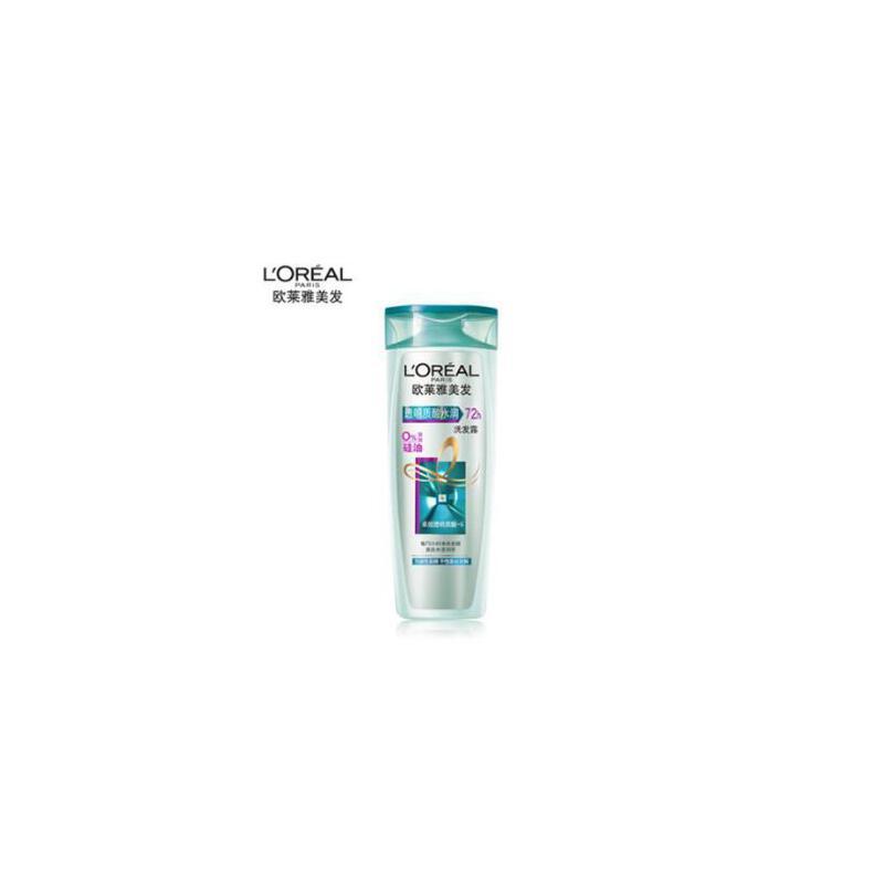 欧莱雅 洗发水透明质酸水润洗发水露无硅油 洗头膏 油 夏季护肤 防晒补水保湿 可支持礼品卡