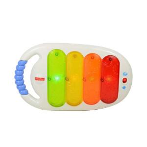 费雪拍打小木琴CBH77 婴儿玩具 宝宝音乐玩具 早教益智 玩具琴