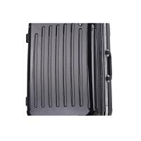 旅行箱包拉杆箱万向轮20/24寸铝框行李箱男女学生登机密码拖拉箱世帆家SN8590 黑色 黑色铝框101