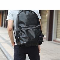 学院韩版潮流PU皮包双肩包 休闲男士背包学生包旅行包电脑包男包SN4376
