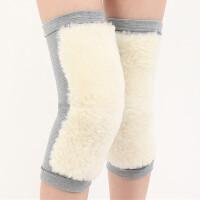 护膝保暖男女士老寒腿棉护漆膝盖关节加厚加绒防寒护腿 灰色套筒款 内穿