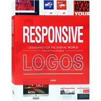 Responsive Logos 标志响应式 数字时代的标识标志logo设计案例 品牌视觉艺术设计书