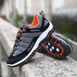 登山鞋男鞋新款男子户外运动鞋休闲鞋男款徒步鞋旅游鞋子男