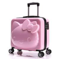 儿童行李箱女18寸公主卡通旅行箱20寸可爱万向轮拉杆箱女孩可坐骑