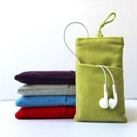 Xiaomi/小米新移动电源2保护套 二代10000毫安充电宝绒布袋收纳袋