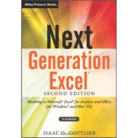 【预订】Next Generation Excel: Modeling in Excel for Analysts a